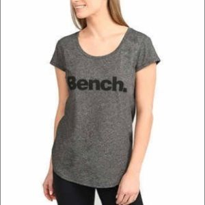 Bench Athletic Cool Fitted T-Shirt Heathered Grey